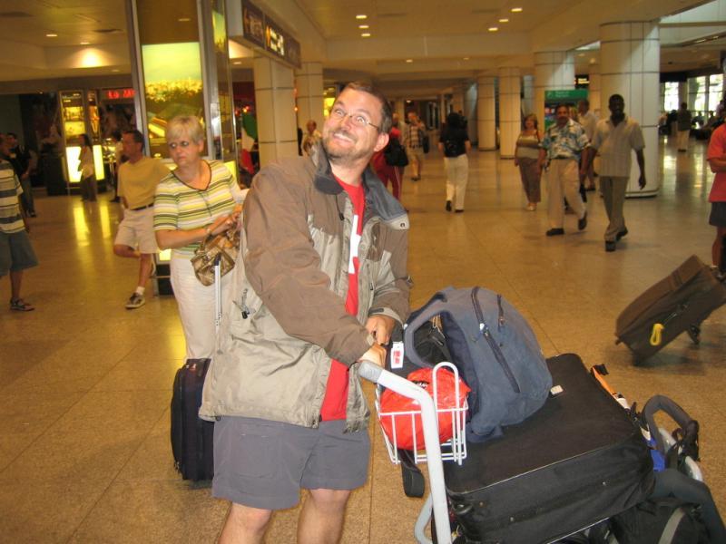 Bon voyage John... Aeroport