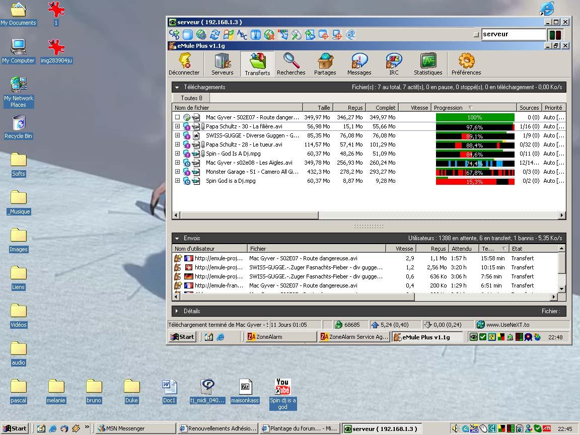 Serveur perso - WiFi et cie Desktop