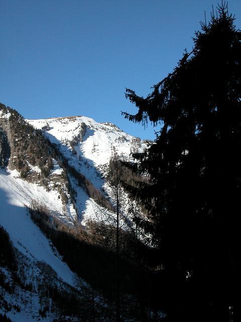 Ah, le Valais, ses montagnes... sa neige... DSCN8900